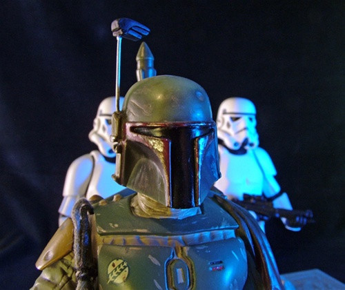 Boba Fett With Han In Carbonite Statue Thumbnail