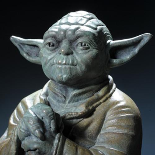 Bronze Yoda Statue Thumbnail