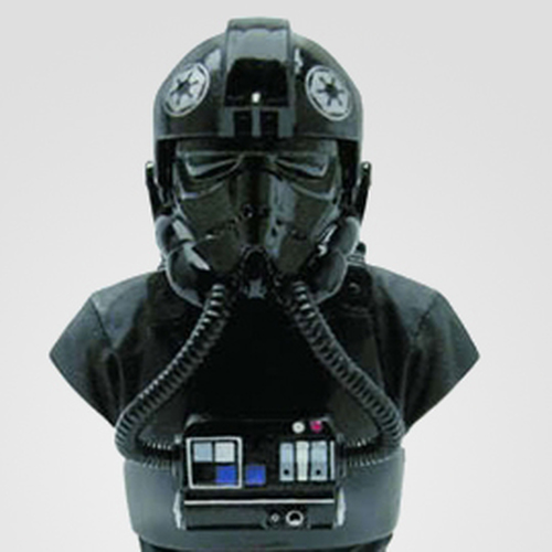 Classic Tie Fighter Pilot Bust Thumbnail