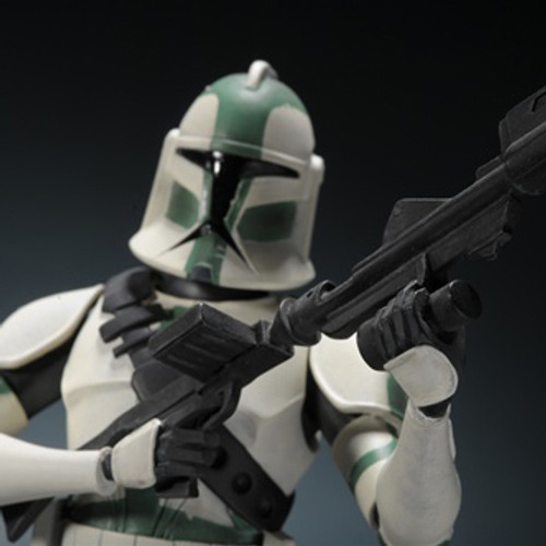Clone Wars Commander Gree Maquette Thumbnail