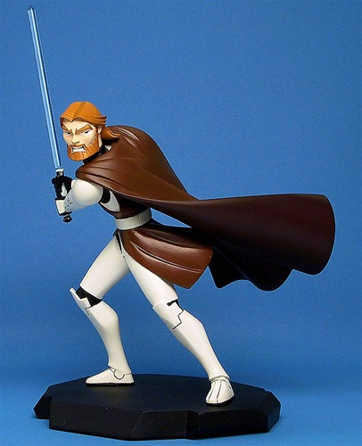 Clone Wars Obi Wan Animated Maquette Thumbnail