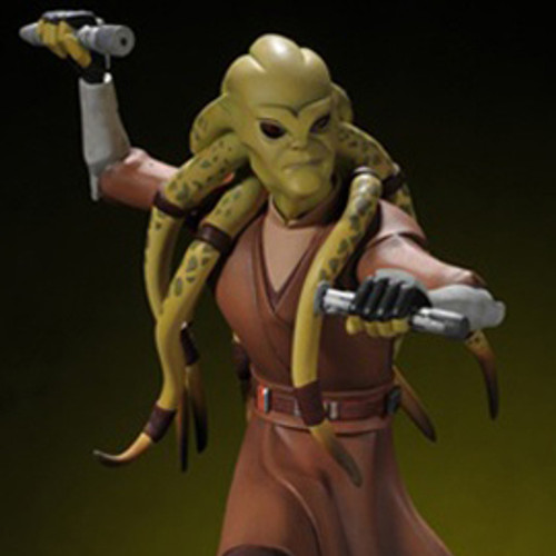 Cw Kit Fisto Animated Maquette Thumbnail