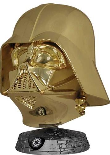 Darth Vader Helmet - Gold Electroplated Variant Thumbnail