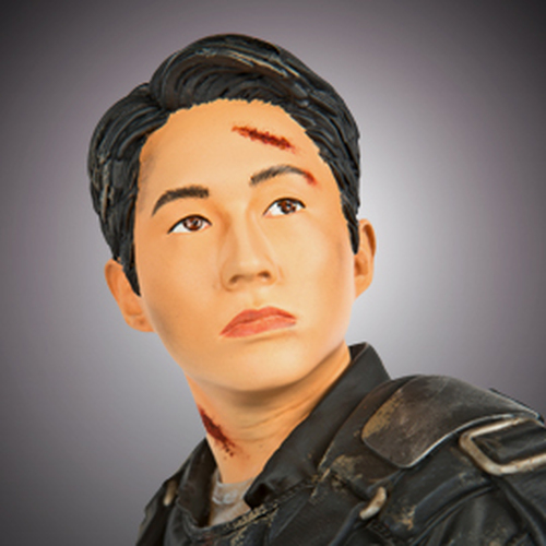 Glenn In Riot Gear Statue Thumbnail