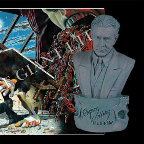 Mr. Bitchin' (Robert Williams) Bust and Signed Giclae Print - SDCC 2013 Exclusives Thumbnail