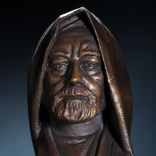 Obi Wan Kenobi Bronze Bust Thumbnail