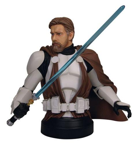 Obi-Wan Kenobi In Clone Trooper Armor Mini Bust Thumbnail