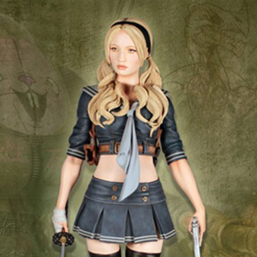 Sucker Punch Babydoll Japanese Variant Statue Thumbnail