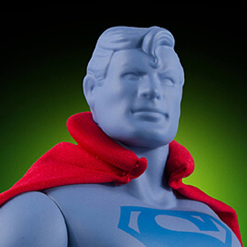 Superman First Shot Prototype Super Powers Jumbo Figure - SDCC 2016 Exclusive