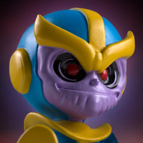 Animated Thanos Statue