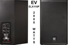 EV ELX115P Live X PA Speaker System Pair $50 Instant Coupon use Promo Code: $50-OFF