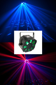 Chauvet swarm 4 LED rotating color effects light $5.00 Instant Coupon use Promo Code: $5-OFF