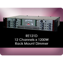 LIGHTRONICS RE121D 12 Channel 14400w Total Rackmount Dimmer with Edison Output $50 Instant Coupon Use Promo Code: $50-OFF