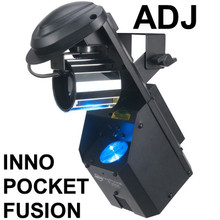 AMERICAN DJ INNO POCKET FUSION LED & Laser Dual FX Light $10 Instant Coupon Use Promo Code: $10-OFF