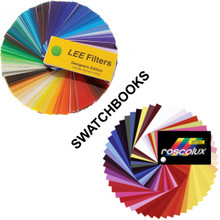 Your choice of the Lee Designers Edition or Roscolux Classic Edition Swatchbook