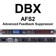 DBX AFS2 Advanced Feedback Suppressor $10 Instant Coupon Use Promo Code: $10-OFF