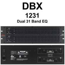 DBX 1231 Dual 31 Band Equalizer $10 Instant Coupon Use Promo Code: $10-OFF