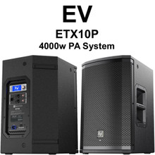 EV ETX10P 4000 Watt PA Speaker Pair $100 Instant Coupon Use Promo Code: $100-OFF