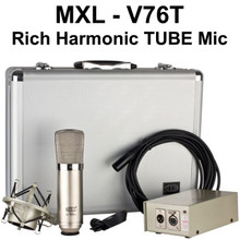 MXL V76T Tube Mic System for Rich Harmonic Recording $10 Instant Coupon Use Promo Code: $10-OFF
