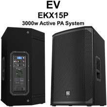 EV EKX15P 3000 Watt PA Speaker Pair $50 Instant Coupon Use Promo Code: $50-OFF