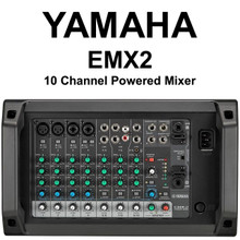 YAMAHA EMX2 10 Channel 500w Powered Audio Mixer with Feedback Suppressor $20 Instant Coupon use Promo Code: $20-OFF