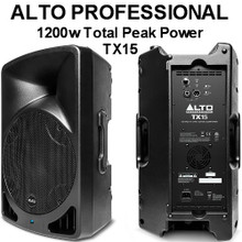 ALTO PROFESSIONAL TX15 1200w Total Peak Power PA System $25 Instant Coupon Use Promo Code: $25-OFF