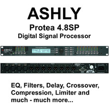 ASHLY PROTEA 4.8SP Professional Multiple Digital Processor $60 Instant Coupon Use Promo Code: $60-OFF