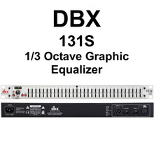 DBX 131S 1/3 Octave 31 Band Graphic Equalizer $10 Instant Coupon Use Promo Code: $10-Off