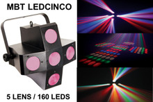 MBT LedCinco 5 Lens 160 Led FX Centerpiece Light $20 Instant Coupon Use Promo Code: $20-Off