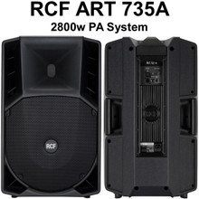 RCF ART 735-A 2800w Active PA System $100 Instant Coupon Use Promo Code: $100-OFF