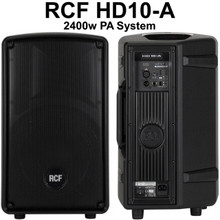 RCF HD10-A 2400w Active PA Speaker System Pair $50 Instant Coupon Use Promo Code: $50-OFF