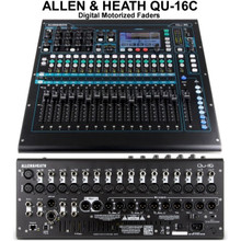 ALLEN & HEATH QU-16C Digital Touchscreen Motorized Fader Audio Mixer