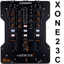 Allen & Heath Xone:23c 4 Channel Stereo Built-In Soundcard Mixer