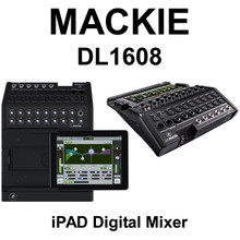 Mackie DL1608 Digital Live Sound 16 Channel  Audio Mixer with Lightning Plug  & iPad Control $15 Instant Coupon Use Promo Code: $15-OFF