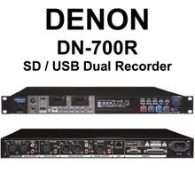 DENON DN-700R SD/USB Dual Simultaneous Rackmount Recorder $30 Instant Coupon Use Promo Code: $30-Off