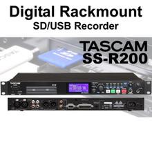 TASCAM SS-R200 Rackmount SD/USB Digital Recorder