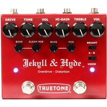 TRUETONE JEKYLL & HYDE V3 Dual Overdrive / Distortion Guitar Stompbox Pedal $5 Instant Coupon Use Promo Code: $5-OFF