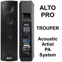 ALTO PROFESSIONAL TROUPER Acoustic Artist Lightweight Bluetooth PA System $20 Instant Coupon Use Promo Code: $20-OFF
