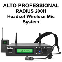 Alto Professional Radius 200H Wireless Headset Mic System $15 Instant Coupon Use Promo Code: $15-Off