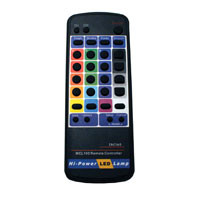 RGB IR remote control for LED Instant Programming