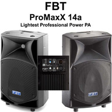 Fbt Promaxx 14a 3600w Peak Professional Light Active Pa System $150 Instant Coupon Use Promo Code: $150-Off