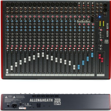 ALLEN & HEATH ZED-24 Desktop Multi-Purpose USB Live Recording Mixer