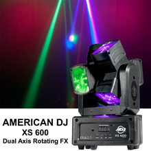 AMERICAN DJ XS 600 Dual 360-Degree Rotating LED FX Light $20 Instant Coupon Use Promo Code: $20-OFF