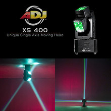 AMERICAN DJ XS 400 Dual Axis 360-Degree Rotating LED FX Light $15 Instant Coupon Use Promo Code: $15-OFF