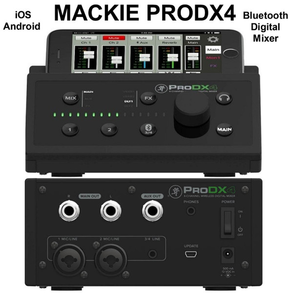 mackie prodx4 ios android bluetooth digital mixer with mixerconnect app 10 instant coupon use. Black Bedroom Furniture Sets. Home Design Ideas