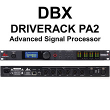 DBX DRIVERACK PA2 Complete PA Management System Processor $20 Instant Coupon Use Promo Code: $20-OFF