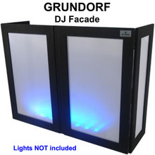 GRUNDORF GS-LS4863T DJ Facade with Black Ribs and White Lycra Panels $15 Instant Coupon Use Promo Code: $15-OFF