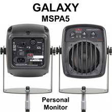 GALAXY MSPA5 Mic Stand Mount Active Monitor includes Hardware $5 Instant Off Use Promo Code: $5-OFF