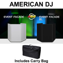 AMERICAN DJ EVENT FACADE in Black or White includes Carry Bag $15 Instant Coupon Use Promo Code: $15-OFF