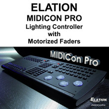 ELATION MIDICON PRO DMX USB ART-NET Software Lighting Controller Interface with Motorized Faders $150 Instant Coupon Use Promo Code: $150-OFF